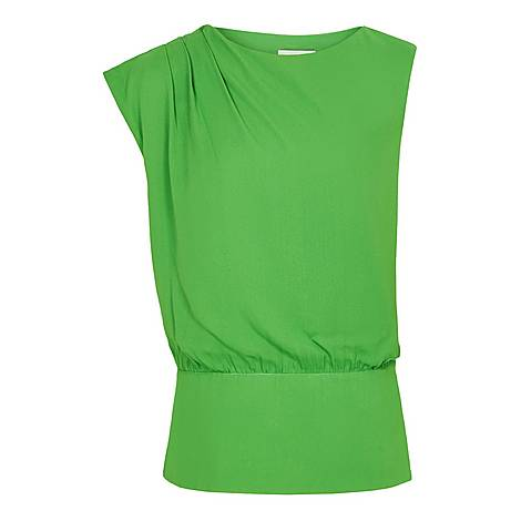 Roberta Pleated Top, ${color}