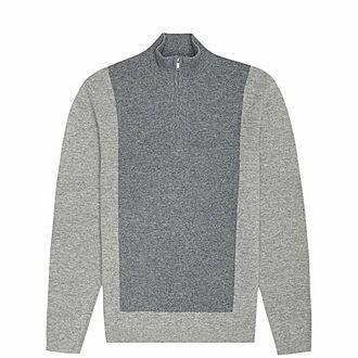 Boardman Zip Neck Sweater