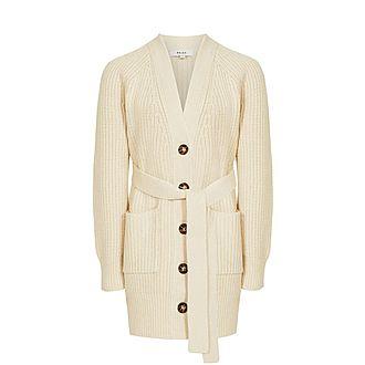 Ivette Cotton-Wool Blend Cardigan
