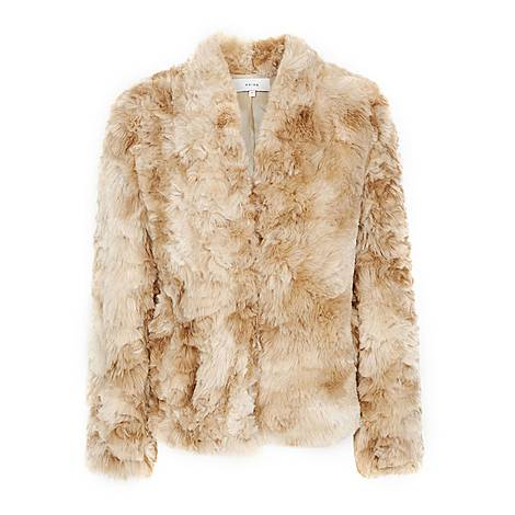 Millie Faux Fur Coat, ${color}