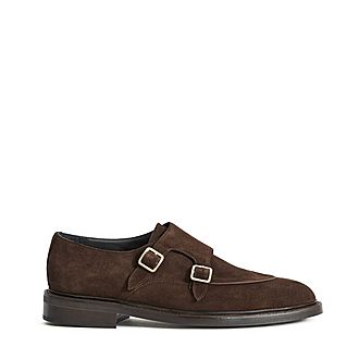 Jake Suede Monk Shoes