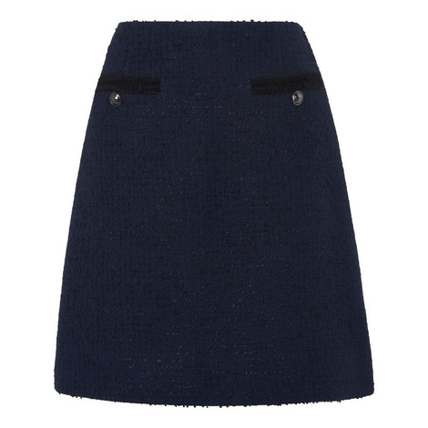Charlee Tweed Skirt, ${color}