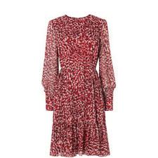 Damiell Animal Print Dress