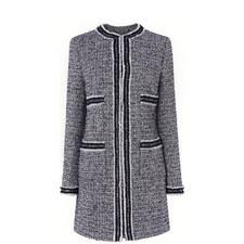 Charl Long Tweed Coat