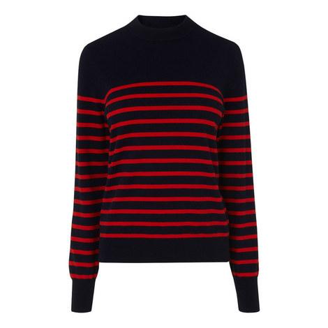 Carson Striped Sweater, ${color}