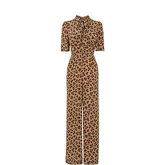 Marmont Leopard Print Jumpsuit