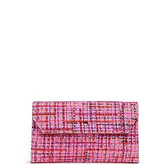 Dora Tweed Clutch