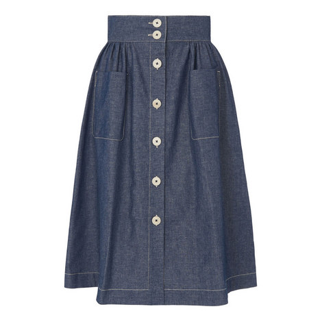 Annelin Denim Skirt, ${color}