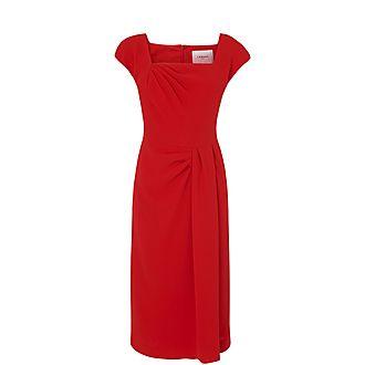 Denise Crepe Dress