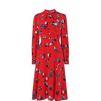 Mortimer Silk Tea Dress