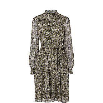 Liza Frill Neck Dress