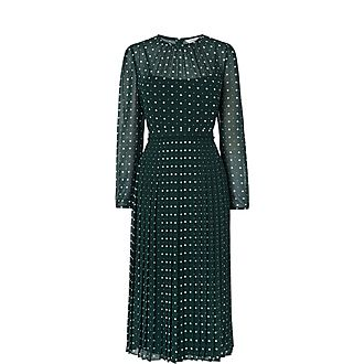 Avery Pleated Dress