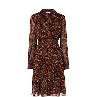 Eliza Leopard Print Dress