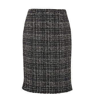 Italy Tweed Skirt