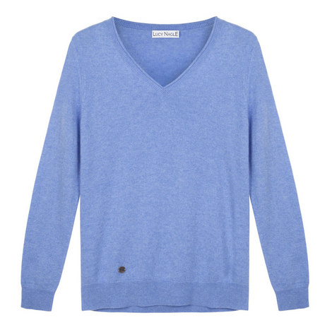 The V-Neck Sweater, ${color}