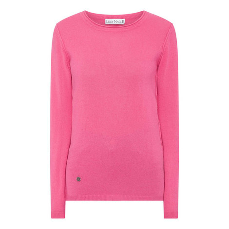 The Reverse Round Neck Sweater, ${color}