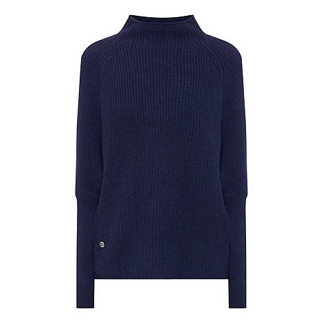 The Slouchy Rib Sweater, ${color}