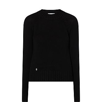 The Crop Cashmere Sweater