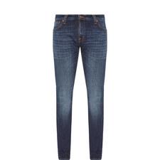 Skinny Lin Deep Worn Jeans
