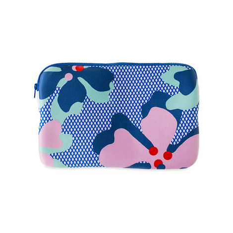 """Sally Cheung Hibiscus Laptop Case 11"""""""", ${color}"""