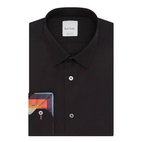 Soho Fit Poplin Shirt, ${color}