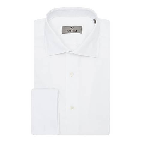 Textured Cotton Shirt, ${color}
