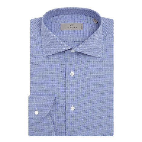 Micro Gingham Modern Fit Shirt, ${color}