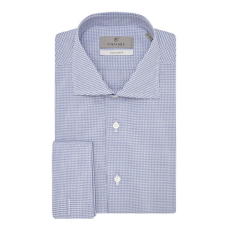 Solid Check Shirt, ${color}