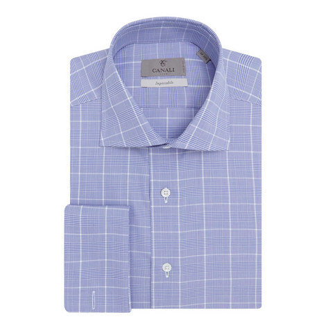 Grid Check Impeccable Shirt  , ${color}