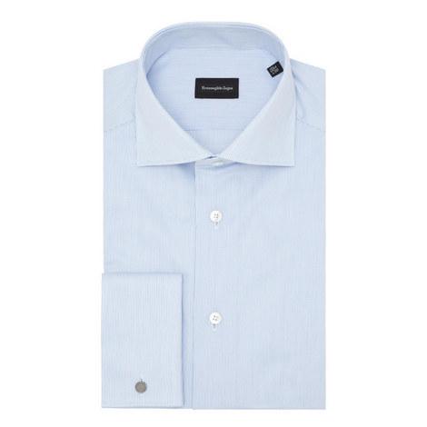 Micro-Stripe Shirt, ${color}