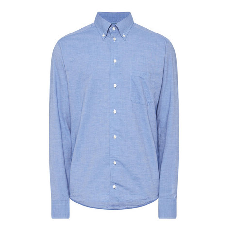 Long Sleeve Micro Dot Shirt, ${color}