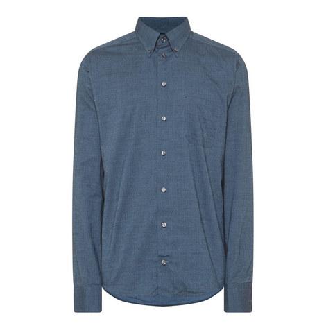 Long Sleeve Micro Dot Shirt, ${color}