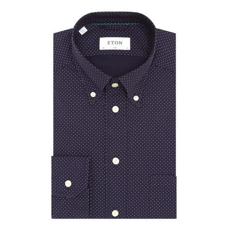 Dot Pattern Shirt, ${color}