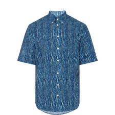 Fish Scale Seersucker Shirt
