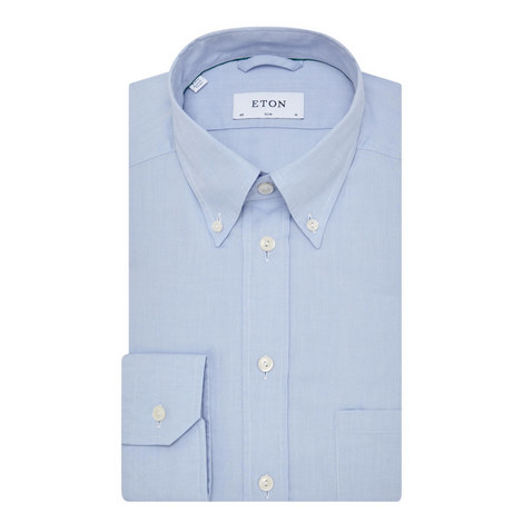Slim Fit Oxford Shirt, ${color}