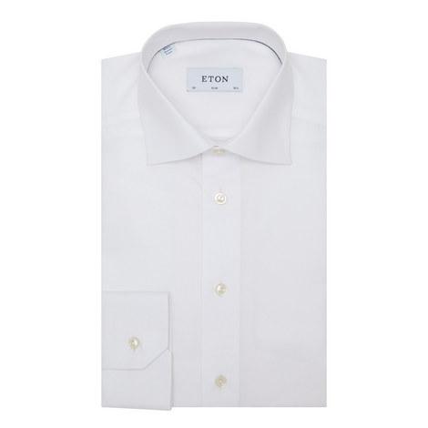 Patterned Slim Fit Shirt, ${color}