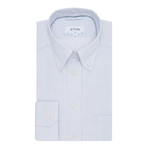 Micro-Print Shirt, ${color}