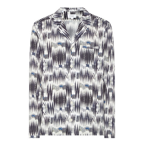 Printed Resort Shirt, ${color}