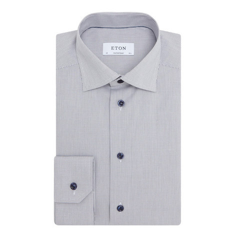Fine Check Shirt, ${color}