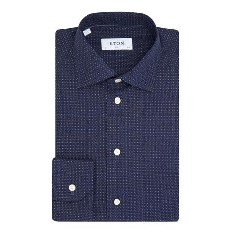 Long Sleeve Micro-Dot Shirt, ${color}