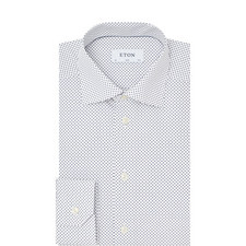 Long Sleeve Micro-Dot Shirt