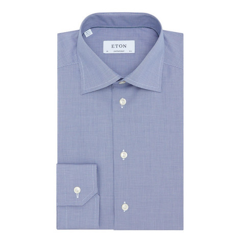Micro Textured Shirt , ${color}