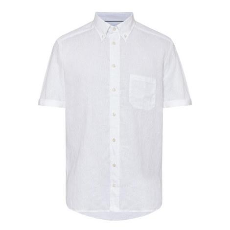 Linen Short Sleeve Shirt, ${color}