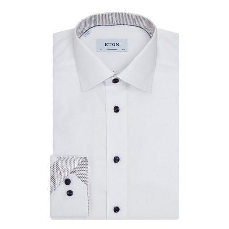 Diamond Trim Contemporary Fit Shirt, ${color}