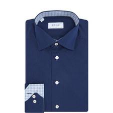 Grid Trim Slim Fit Shirt