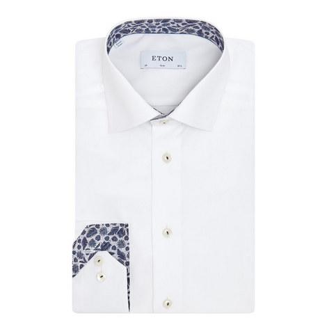 Palm Trim Poplin Shirt, ${color}