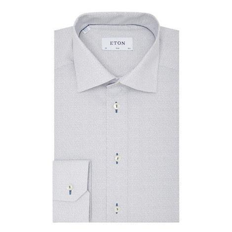 Fine Circle Slim Fit Shirt, ${color}