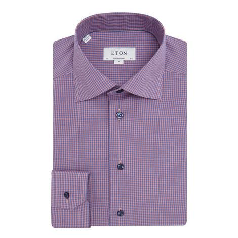 Micro Check Shirt, ${color}