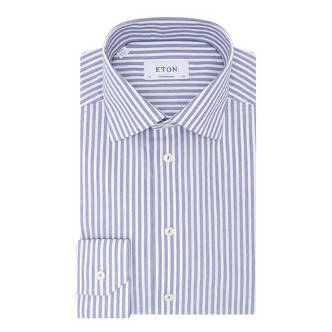 Contemporary Fit Bold Stripe Shirt, ${color}