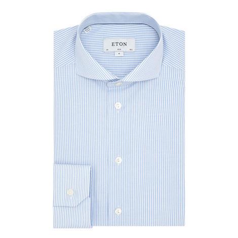 Striped Slim Fit Shirt, ${color}